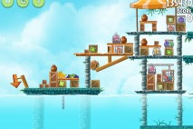 Angry Birds Rio Chest #1 Walkthrough Level 2