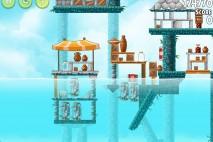 Angry Birds Rio High Dive Walkthrough Level #3