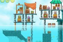 Angry Birds Rio High Dive Walkthrough Level #4