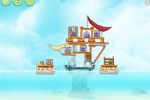 Angry Birds Rio High Dive Walkthrough Level #5