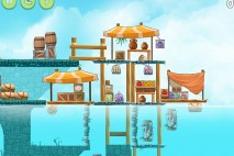 Angry Birds Rio High Dive Walkthrough Level #6