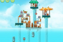 Angry Birds Rio High Dive Walkthrough Level #7