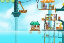 Angry Birds Rio High Dive Walkthrough Level #8