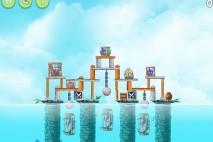 Angry Birds Rio High Dive Star Bonus Walkthrough Level 1