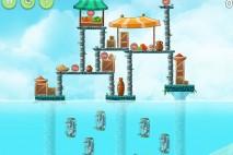 Angry Birds Rio High Dive Star Bonus Walkthrough Level 2