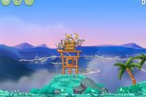 Angry Birds Rio Playground Walkthrough Level #1
