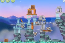 Angry Birds Rio Playground Walkthrough Level #4