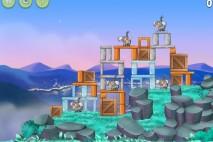 Angry Birds Rio Playground Walkthrough Level #5