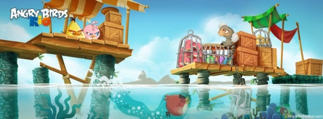 Angry Birds Rio Update Aquatic Theme Featured Image
