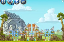 Angry Birds Star Wars 2 Battle of Naboo Level B3-S3 Walkthrough