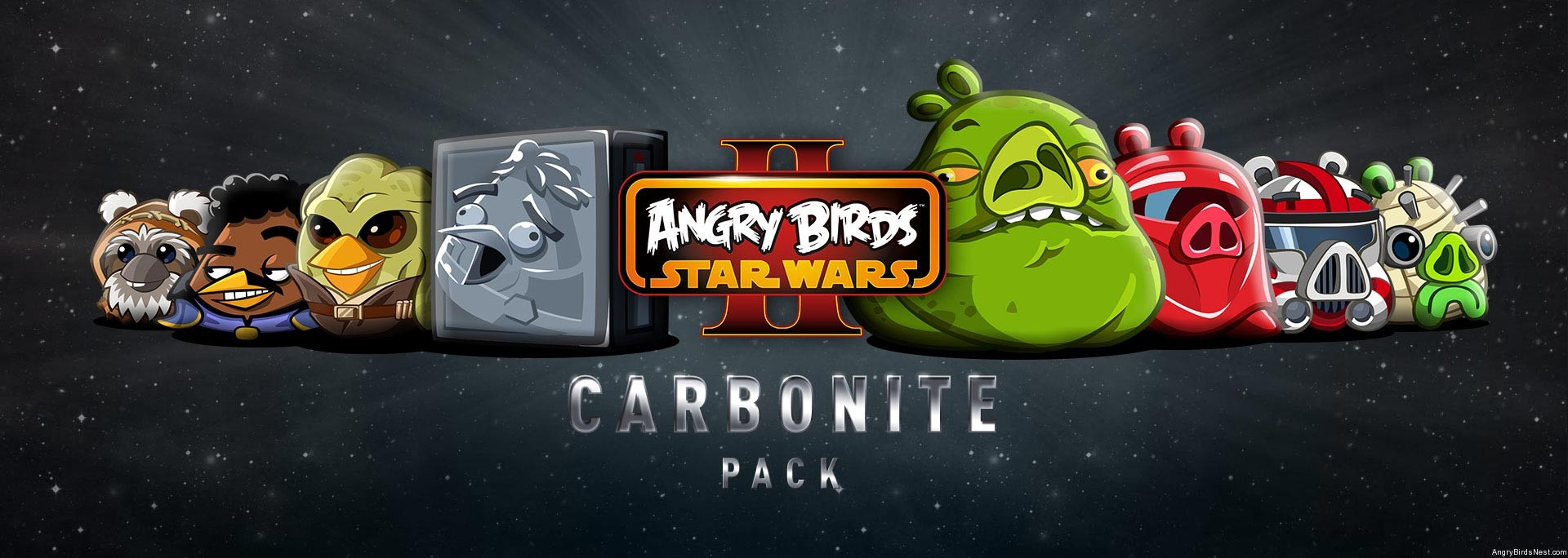 Angry Birds Star Wars Ii Carbonite Pack Update Now Available Angrybirdsnest