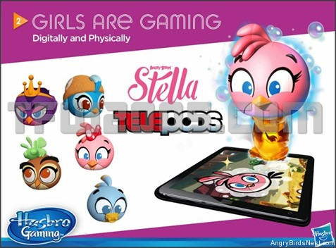 Angry Birds Stella Telepods by Hasbro Teaser Image
