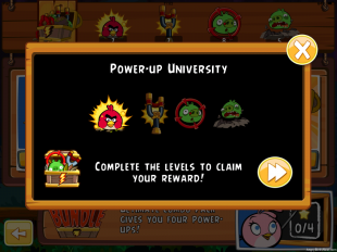to enter Power Up University!