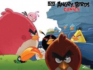 Angry Birds Comics Teaser Image
