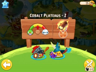 Angry Birds Epic Cobalt Plateaus Level 2 Walkthrough