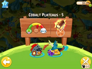 Angry Birds Epic Cobalt Plateaus Level 5 Walkthrough