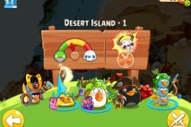 Angry Birds Epic Desert Island Level 1 Walkthrough