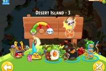 Angry Birds Epic Desert Island Level 3 Walkthrough