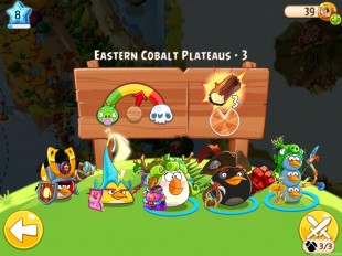 Angry Birds Epic Eastern Cobalt Plateaus Level 3 Walkthrough