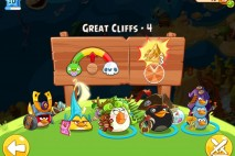 Angry Birds Epic Great Cliffs Level 4 Walkthrough