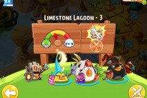 Angry Birds Epic Limestone Lagoon Level 3 Walkthrough