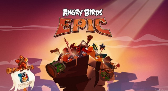 Angry Birds Epic Main Teaser Image