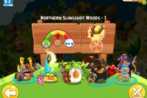 Angry Birds Epic Northern Slingshot Woods Level 1 Walkthrough