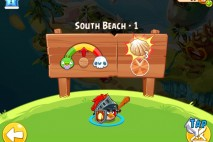 Angry Birds Epic South Beach Level 1 Walkthrough
