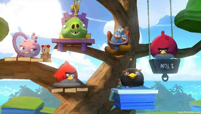 Angry Birds GO Energy Managment Lesson Tree