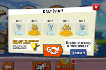 Angry Birds Go Daily Rewards 2