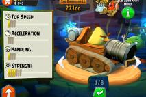 Angry Birds Go Sub Zero Kart