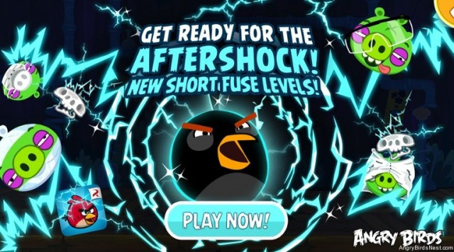 Angry Birds Short Fuse Aftershock Update Featured Image