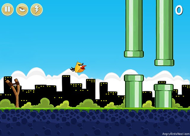 Flappy Angry Birds Gameplay