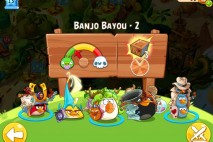 Angry Birds Epic Banjo Bayou Level 2 Walkthrough