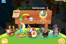 Angry Birds Epic Canyon Land Level 3 Walkthrough
