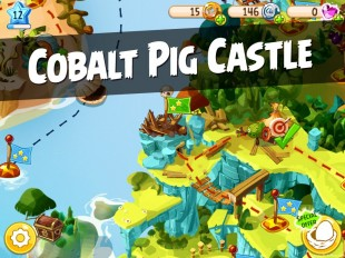 Angry Birds Epic Cobalt Pig Castle Walkthrough