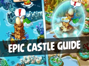 Angry Birds Epic Complete Castle Guide | Retrieve All Eggs