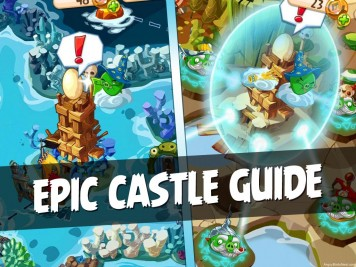 Angry Birds Epic Complete Castle Guide Featured Image