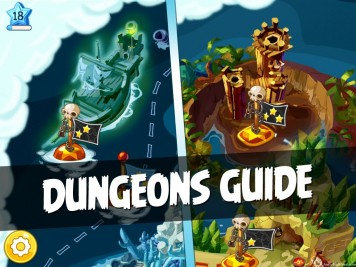 Angry Birds Epic Complete Dungeons Guide Featured Image