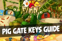 Angry Birds Epic Complete Keys Guide | Unlock all Pig Gates