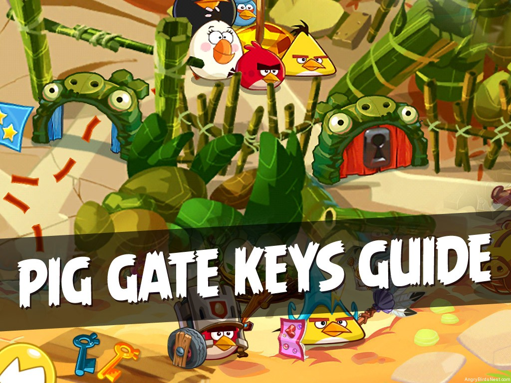Angry Birds Epic Complete Keys Guide Unlock All Pig