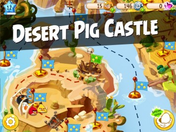 Angry Birds Epic Desert Pig Castle Featured Image