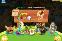Angry Birds Epic Eastern Bamboo Forest Level 1 Walkthrough