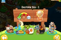 Angry Birds Epic Eastern Sea Level 1 Walkthrough