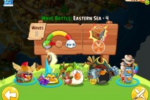 Angry Birds Epic Eastern Sea Level 4 Walkthrough