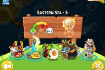 Angry Birds Epic Eastern Sea Level 5 Walkthrough