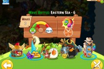 Angry Birds Epic Eastern Sea Level 6 Walkthrough