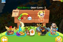 Angry Birds Epic Great Cliffs Level 3 Walkthrough