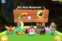 Angry Birds Epic Hog Head Mountain Level 1 Walkthrough