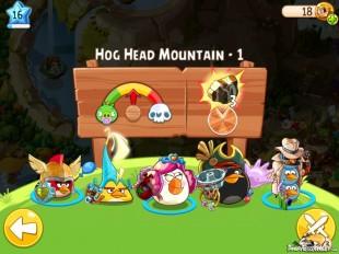 Angry Birds Epic Hog Head Mountain Level 1 Walkthrough